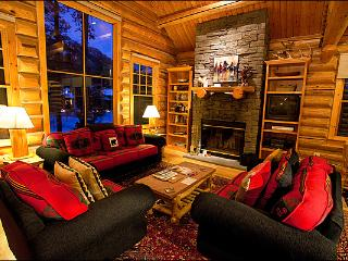 Opulent Cabin Home - Custom Furnishings Throughout (4992) - Jackson Hole Area vacation rentals