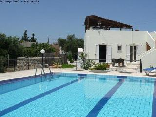 2 bed 2 bath villa / shared pool long term rent - Chania Prefecture vacation rentals