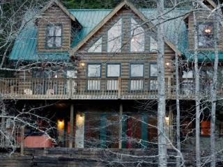 Shallowford View - Riverfront cabin near the Shallowford Bridge - Blue Ridge vacation rentals
