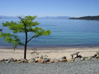 **LAKEFRONT**CONDO**3/3ba**PRIVATE BEACH** - Lake Tahoe vacation rentals