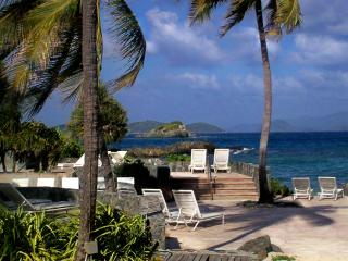 Condo on Beach Carribean/Pool 40'Out Rear - Red Hook vacation rentals