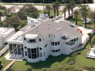 Fall $pecials 2000 wkly Oceanfront Home 5 Bedroom 7400 Sq Ft - Indoor Pool - Daytona Beach vacation rentals
