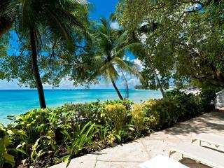 Sea Isle at Mullins Beach, Barbados - Beachfront, Well Kept Garden, Large Enclosed Verandah - Mullins vacation rentals