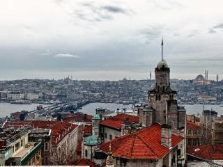 Historical Flat in Galata with Bosphorus view - Istanbul vacation rentals