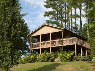 Log Cabin w/ Hot Tub, Views & Privacy- Near New River State Park - Crumpler vacation rentals