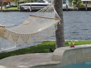 Beautiful  Waterfront Family-Home, heated pool - Pompano Beach vacation rentals