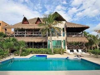 Sombras del Viento - Unique villa on beach with pool & magnificent tropical surroundings - Tulum vacation rentals