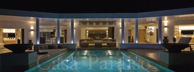 Villa Paraiso Night View - New luxury villa Paraiso - Gustavia - rentals