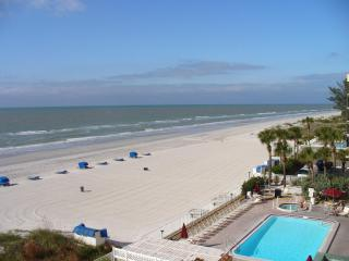 #508 SANDCASTLE I /DIRECT GULF VIEW/SLEEPS 6 - Indian Shores vacation rentals
