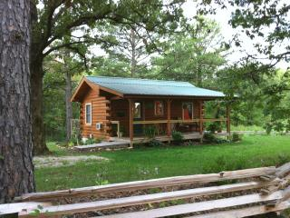 Private Log Cabin near Meremac River-with hot tub - Steelville vacation rentals