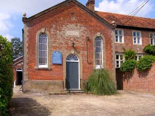 THE METHODIST CHAPEL, converted chapel, with games room, off road parking, and garden, in Whiteparish, Ref 16337 - Wiltshire vacation rentals