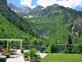 Best View at Sundance! Waterfall in your Backyard! - Utah Ski Country vacation rentals