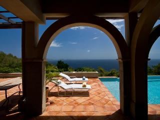Luxury Bequia villa on 10 acres, infinity pool, gazebo, 4 Bedrooms, 2 Receptions, 4 Bathrooms (v) - Saint Vincent and the Grenadines vacation rentals
