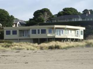 View of the house from the beach - Coast Haven - Bandon - rentals
