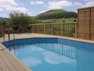 7 bedroom luxury cottage with heated pool in wales - Llanbrynmair vacation rentals