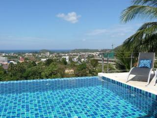 Amazing 5-bedroom pool villa stunning seaview Kata - Kata vacation rentals