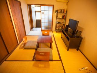 Japanese style town House One Stop from Kyoto Station - Kyoto vacation rentals