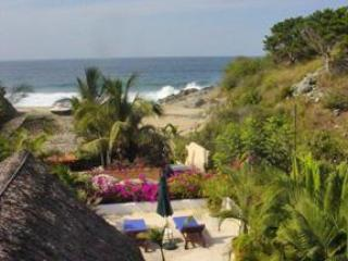 Roof Top Lounge area view - Casa Obelisco - San Pancho - rentals
