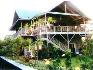 Beautiful Hawaiian Style Home, 200 ft. from ocean - Captain Cook vacation rentals