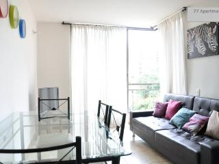 Private Room in a Shared Apartment at  Medellin, Poblado, Ensuite Room with Pool and Gym, C4 - Medellin vacation rentals
