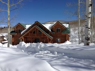 Wolf Creek Mountain Retreat with Private Sledding Hill, 4 Bedrooms, Sleeps 16 and Private Hot Tub - Heber vacation rentals