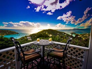 Spectacular Sunsets & Ocean Views Remodeled Villa - Cruz Bay vacation rentals