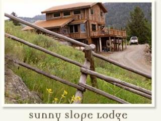 Eco Friendly, Custom Lodge Overlooking Yellowstone - Gardiner vacation rentals