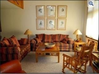 Woody Sunny Townhouse on Golf Course 2bd/huge loft - Mammoth Lakes vacation rentals