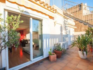Cozy penthouse with 3 terraces - Barcelona vacation rentals