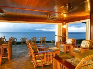 Stunning Maui Oceanfront Home located in Kahana - Sleeps up to 12 - Maui vacation rentals