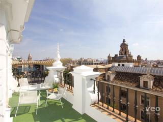 Laraña 4. Central 1-bedroom for 4 with terrace - Seville vacation rentals