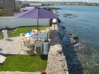 Sea lapping back garden with  panoramic sea views! - Bangor vacation rentals