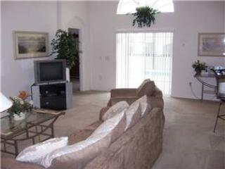 Living Area with TV Set - LPHP4P353KD HGP4P353KD ~ 4 Bedroom Luxury Pool Home With Large Game Room - Davenport - rentals