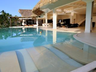 Villa del Mar  Beachfront, 13 bedrooms, 26 sleeps - Las Terrenas vacation rentals