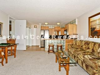 Four Paddle #2511 - Mountain view 1-bedroom with full kitchen, AC, washer/dryer, WiFi, parking. - Waikiki vacation rentals