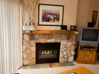 Livingroom TV - Fireside Lodge Village Center - 319 - Sun Peaks - rentals