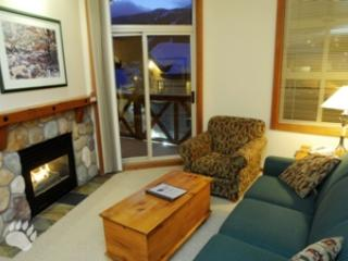 Fireplace - Fireside Lodge Village Center - 415 - Sun Peaks - rentals