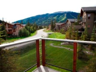View From the Deck - Summer - Trapper's Landing Townhouses - 31 - Sun Peaks - rentals