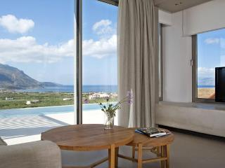 Brand new designers villas with superb sea views - Chania vacation rentals
