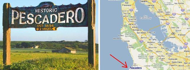 Turn in at the sign... - Pescadero Cottage - Pescadero - rentals