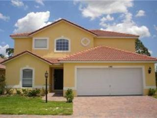 NEW 4 BED 3 BATH HOME WITH PRIVATE POOL, BACKS TO CONSERVATION, SLEEPS 10 - Davenport vacation rentals