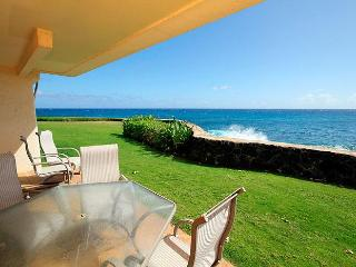 2BR Poipu Oceanfront Condo, Kitchen, WiFi, 107A - Poipu vacation rentals