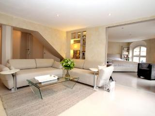Suave 1BR with views of the Odeon Theater - 1st Arrondissement Louvre vacation rentals