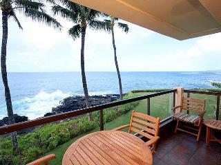 2BR Oceanfront Poipu Condo, Kitchen, WiFi, 203A - Poipu vacation rentals