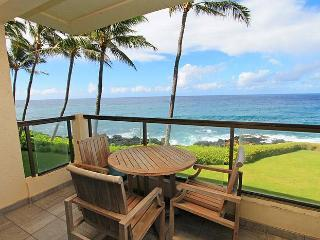 2BR Oceanfront Poipu Shore Condo/Kitchen/WiFi 204A - Poipu vacation rentals