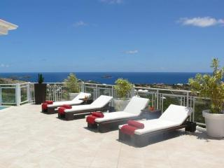 Au Coeur Du Rocher at Vitet, St. Barth - Ocean View, Pool, Very Private - Terres Basses vacation rentals