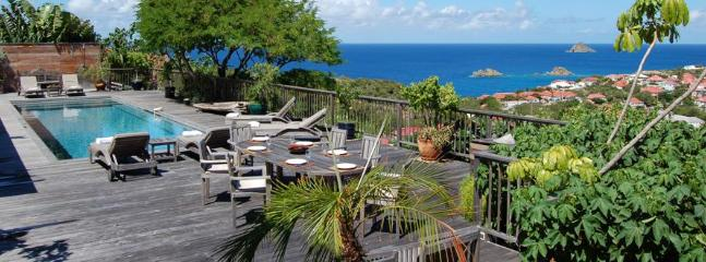 Serenity at Gustavia, St. Barth - Ocean Views, Private, Close Proximity To Gustavia - Gustavia vacation rentals