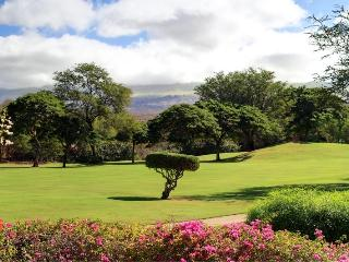 2 Bedroom with Amazing Golf Course & Mountain View - Wailea vacation rentals