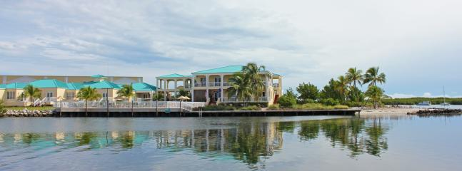 View of the clubhouse and condos from the water - Key West Harbour Oceanfront Suites - Key West - rentals