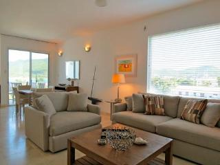 Aqualina #401 at Simpson Bay, Saint Maarten - Penthouse Unit, On The Beach, Ocean and Lagoon View - Terres Basses vacation rentals